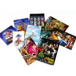 Iron Maiden Christmas Cards, ten Fan Club Christmas cards of various designs - all different and