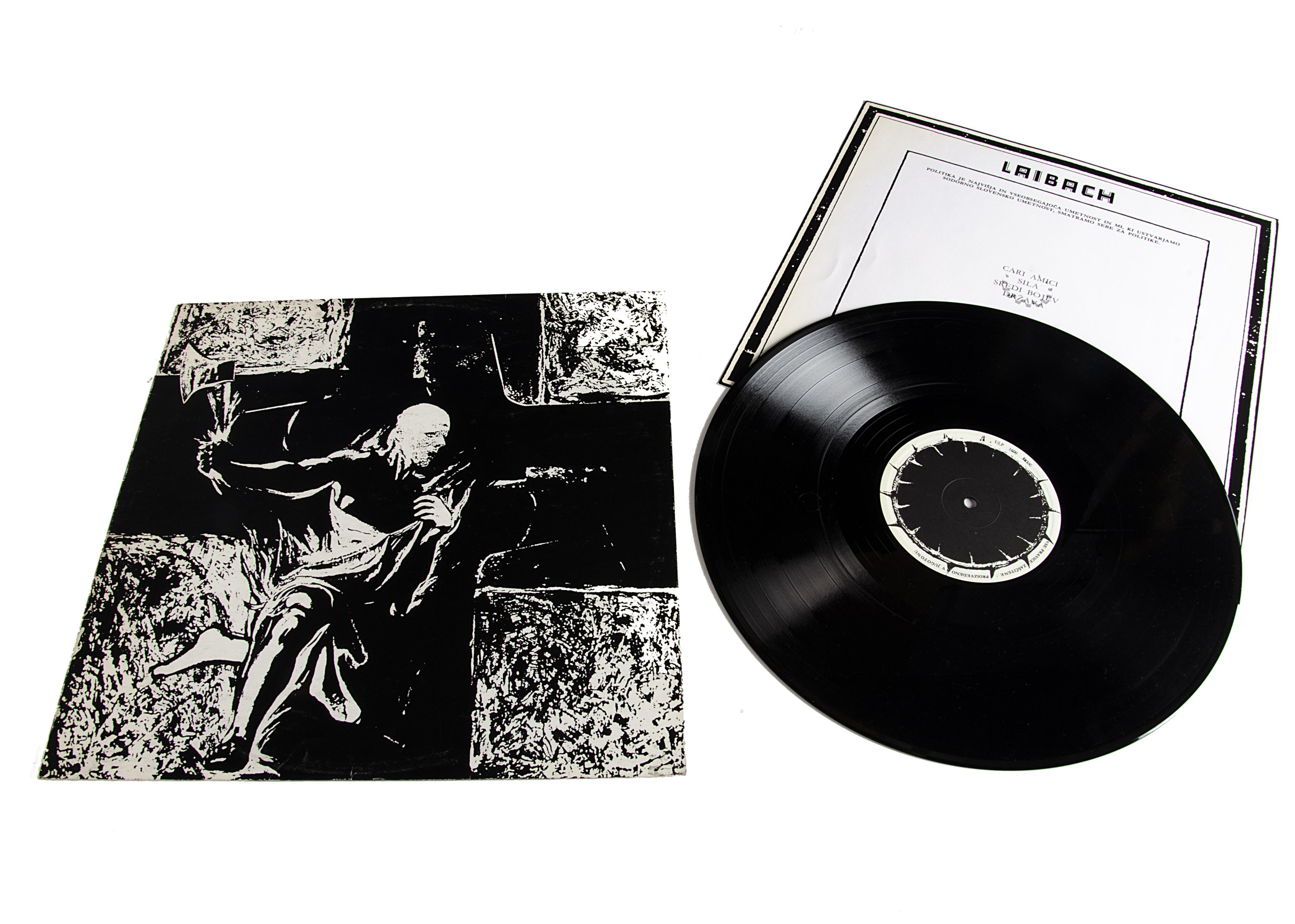 Laibach LP, Laibach LP - original Yugoslavian release 1980 on SCUK (ULP 1600) - with original Insert