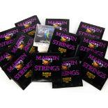 Mandolin Strings, Martin Strings Mandolin 80/20 bronze wound, standard gauge M400, 12 packets of 8