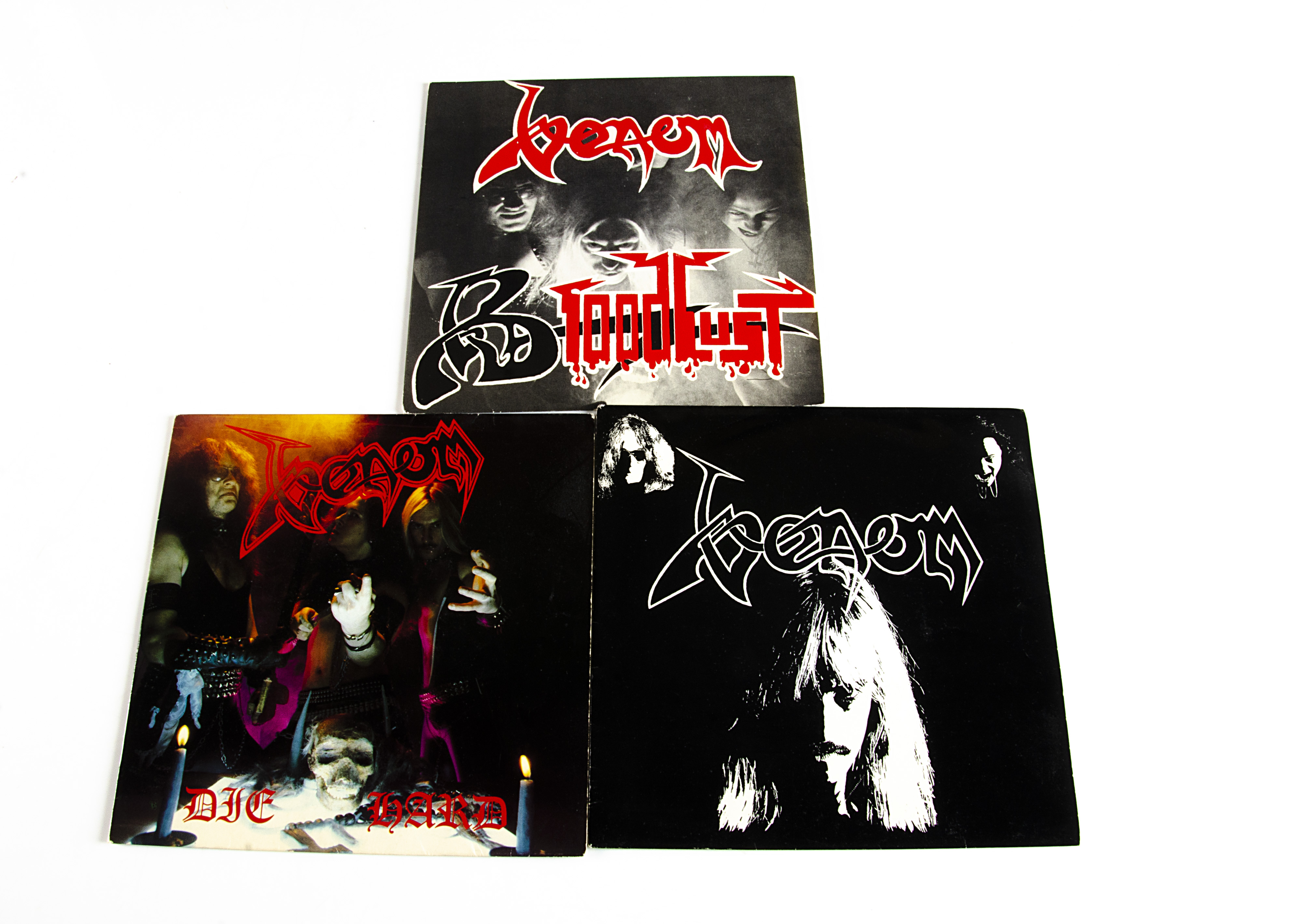 "Venom 7"" Singles, three original UK singles comprising Lady Lust (NEAT 38), Die Hard (NEAT 27) and"