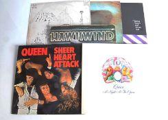 Progressive Rock LPs, fifteen albums of mainly Progressive Rock with artists comprising Pink