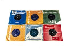 """Sixties 7"""" Singles, approximately forty-five singles of mainly Sixties artists including The Who,"""