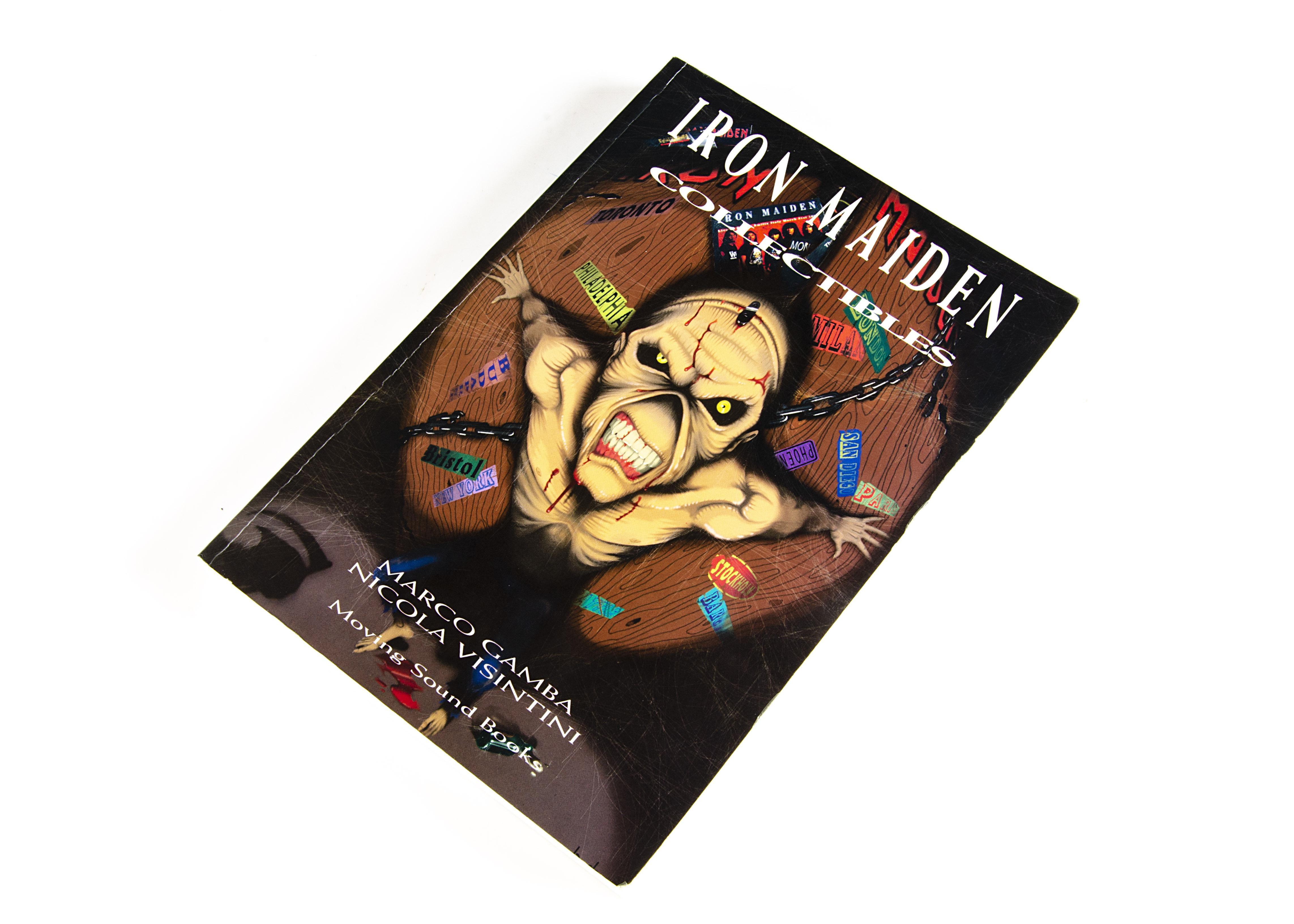 Iron Maiden Collectables Book / Signature, Iron Maiden Collectibles - softback book by Marco Gamba