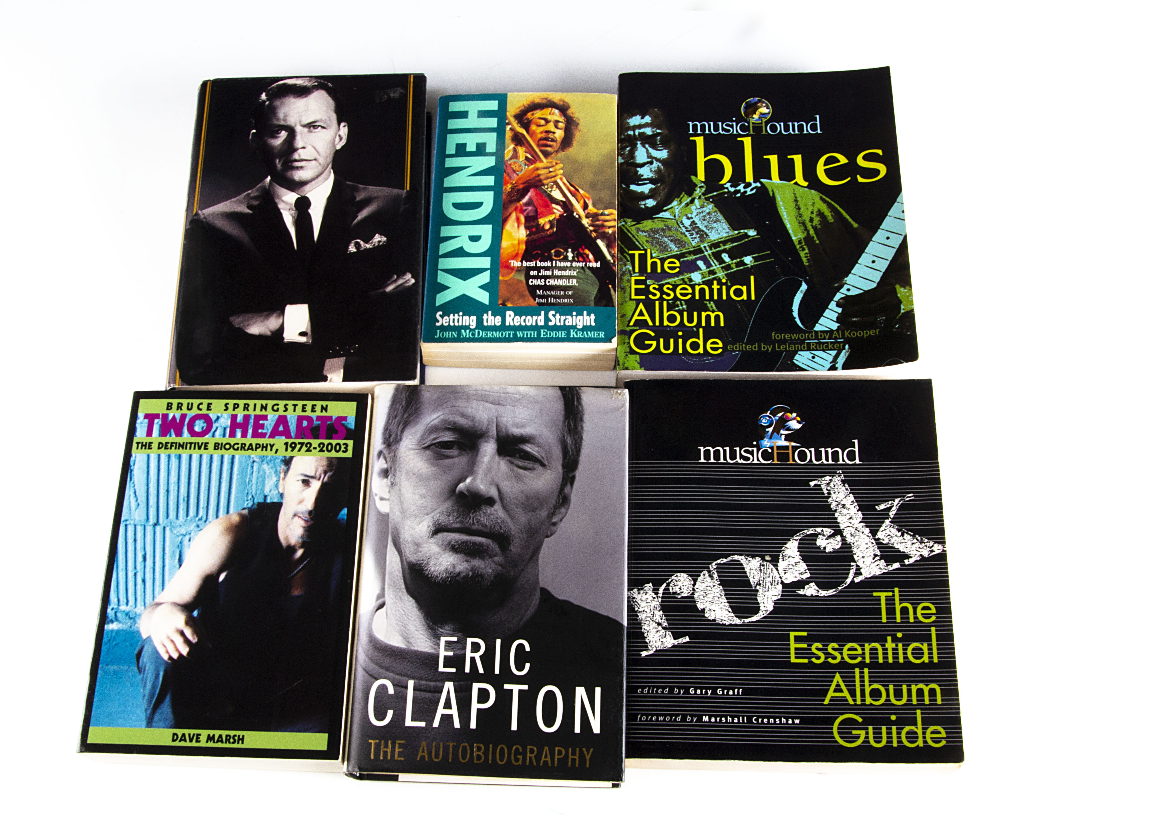 Music Books / Videos / Cassettes, large collection of fifteen books, approximately thirty-five