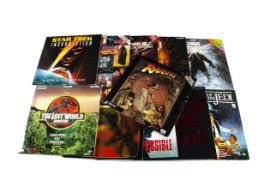 Sci-Fi Laser Discs plus, approximately fifty laser discs of a variety of genres including five