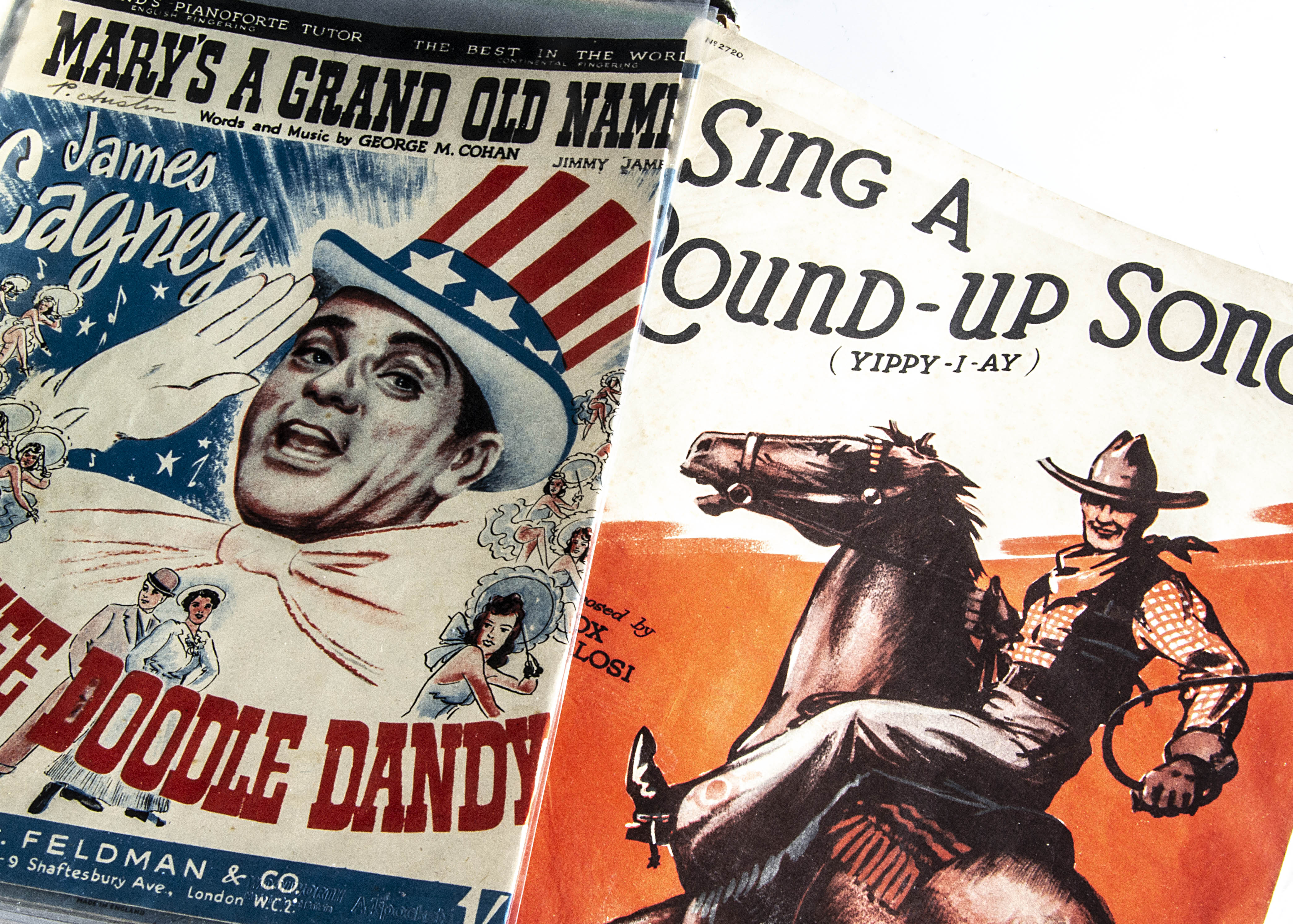 Sheet Music, approximately forty pieces of sheet music, mainly from Films of the 1940/50s with cover - Image 2 of 2