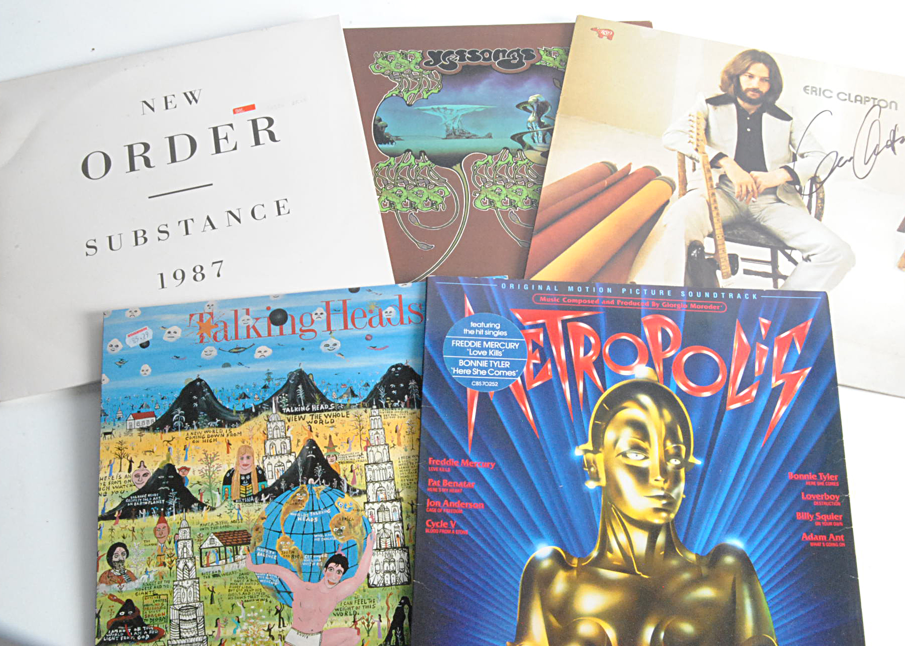 LP Records, approximately one hundred and sixty albums of mainly Rock and Pop with artists including