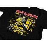 Piece of Mind 'T' Shirt, an original 1983 'Piece of Mind' tour 'T' shirt with Iron Maiden and