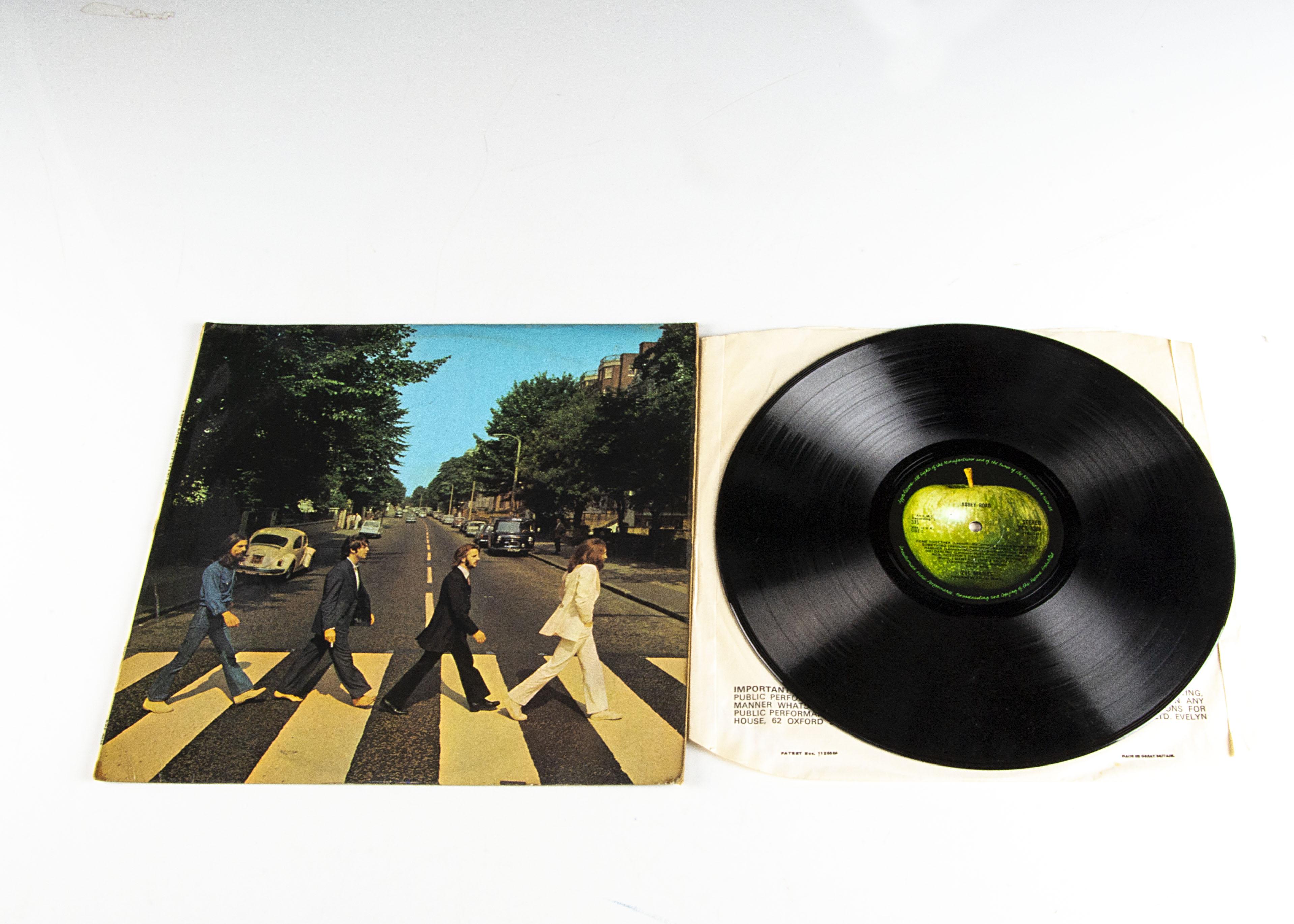 Beatles LP, Abbey Road LP - UK original release on Apple 1969 - PCS 7088 - Fully Laminated