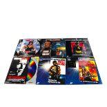 Eastwood / Stallone / Schwarzenegger Laser Discs, thirty laser discs, twenty one Clint Eastwood