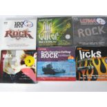 Rock CDs / Box Sets, approximately ninety CDs and fifteen Box Sets of mainly Rock compilations