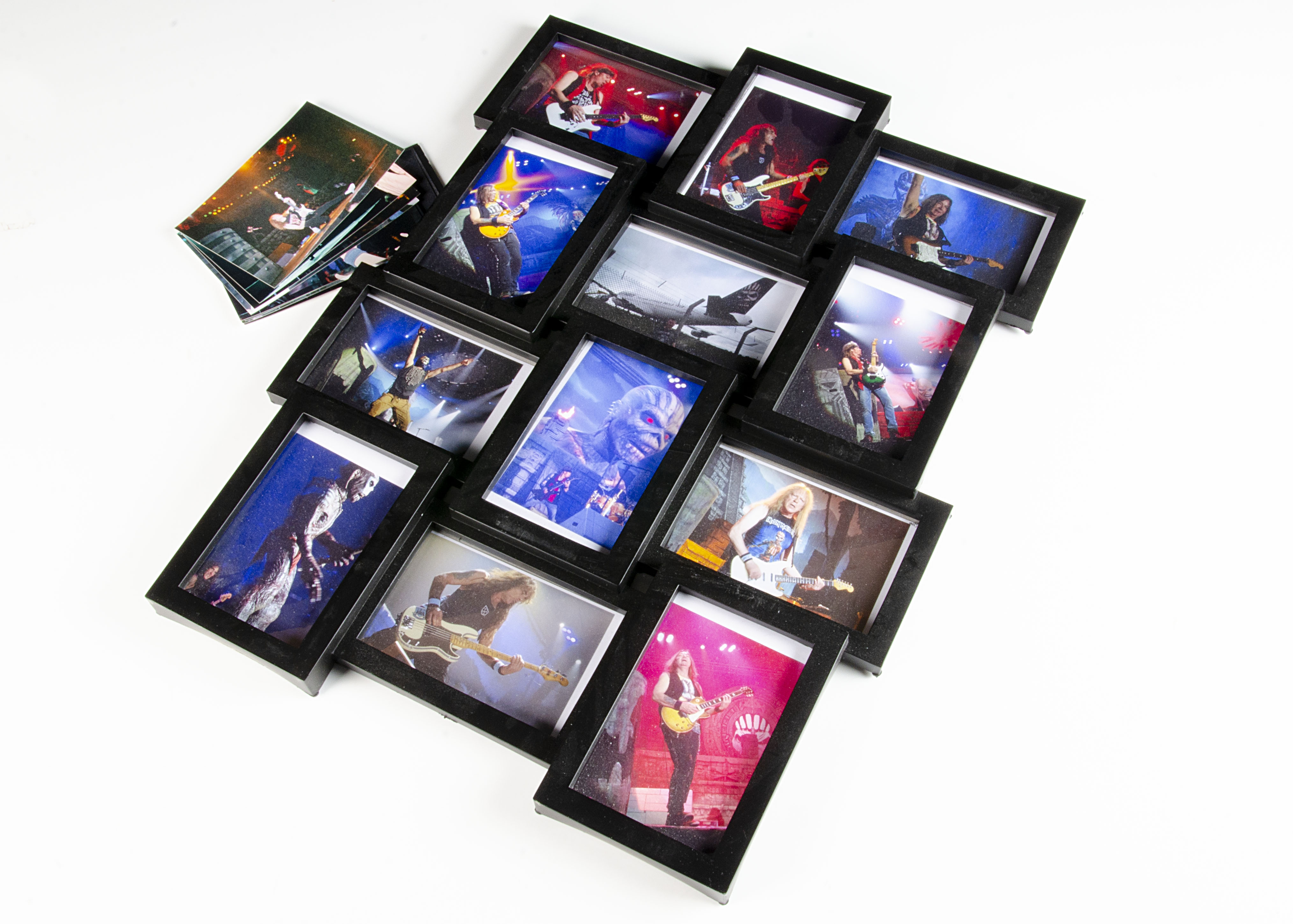 Iron Maiden Photos, twenty-four colour prints taken by Peter Boden of Iron Maiden, mainly in concert