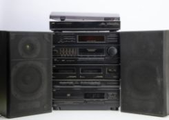 JVC Stereo System, a complete JVC stack system CA-E21L (cassette / CD / Tuner) with deck Al-E21, a