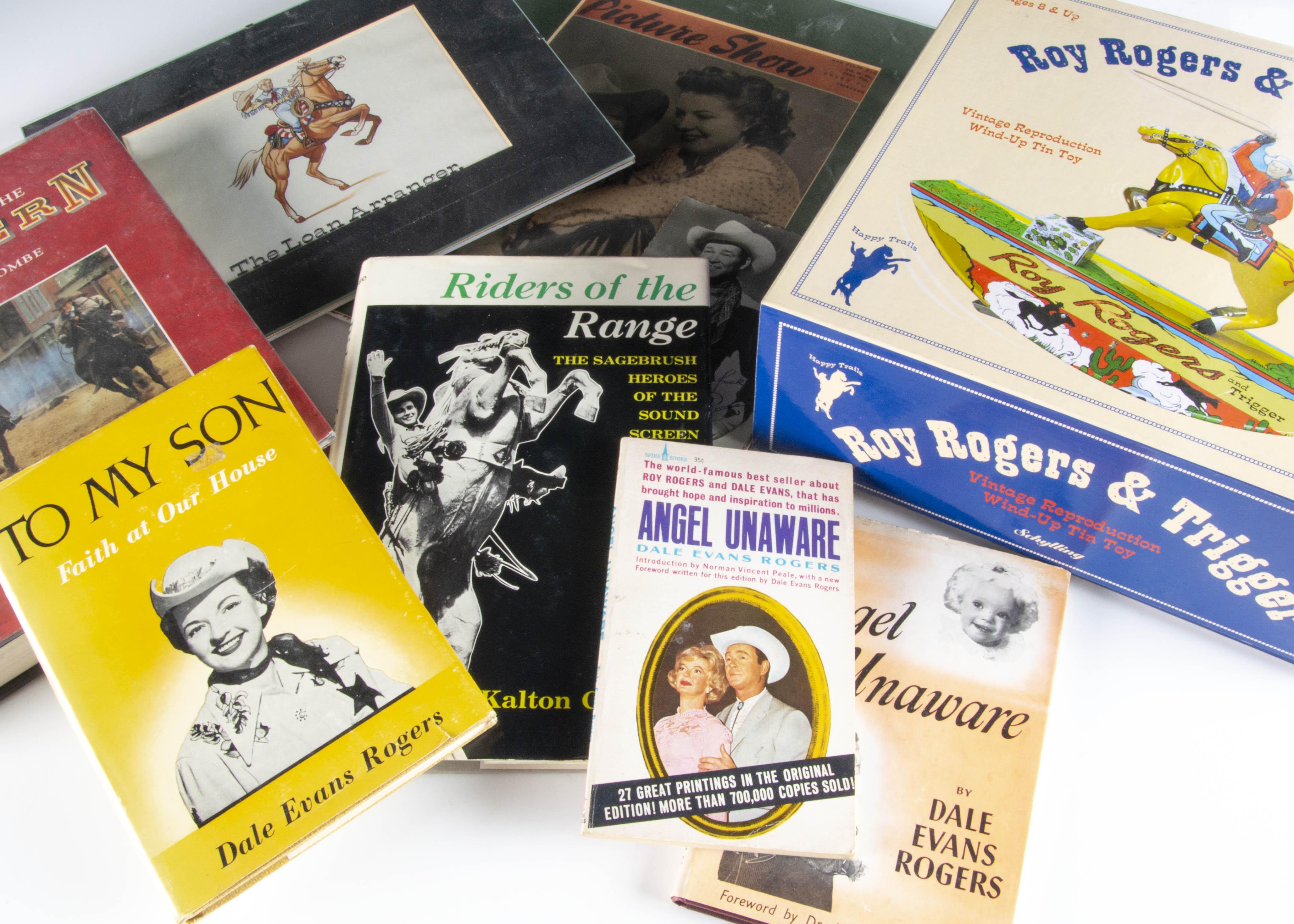 Western Films Memorabilia, a variety of Western Film memorabilia including Lone Star Western