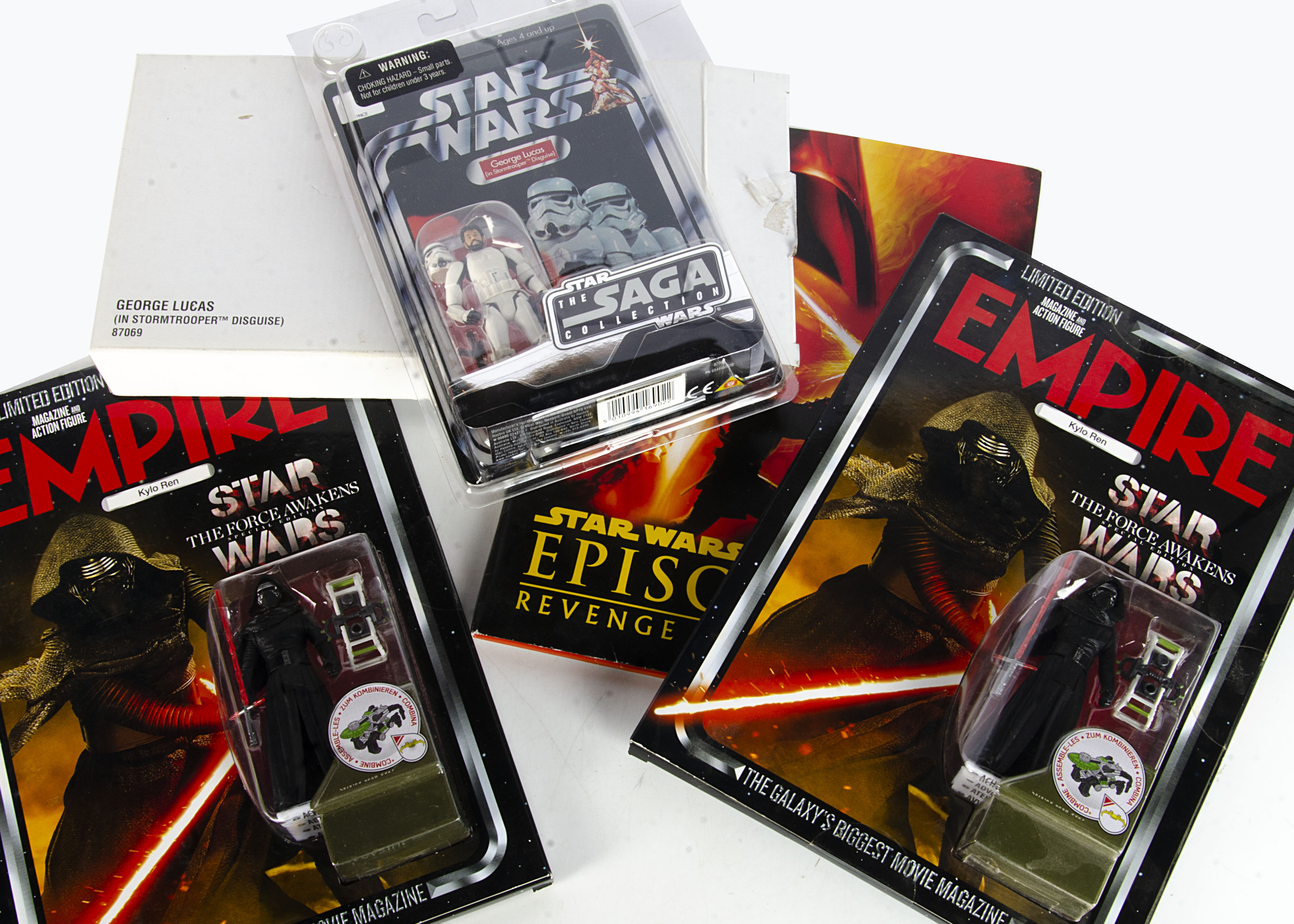 Star Wars / Saga Collection plus, The Saga Collection - George Lucas (in Stormtrooper Disguise) with
