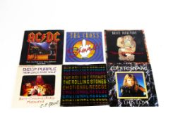 """Rock / Metal 7"""" Singles, approximately two hundred singles of mainly Rock and Metal with artists"""