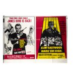 From Russia with Love / Hang Em High Quad Poster, From Russia With Love / Hang Em High UK Quad