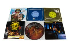 """Rock / Prog 7"""" Singles, approximately ninety 7"""" singles of mainly Rock, Prog and Metal with"""