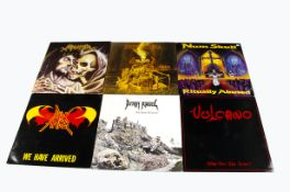 Metal LPs, six albums of mainly Death, Thrash and Grindcore Metal comprising Death Angel - The Ultra