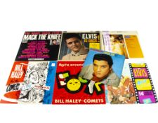 Rock n Roll / Crooner LPs, thirty-five LPs and a Box Set of mainly Rock n Roll, Jazz and Easy with
