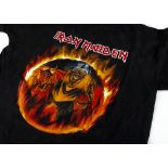 Iron Maiden Clive Burr 'T' Shirt, Iron Maiden 'T' shirt - 'We Headed for Brixton Academy 24th June