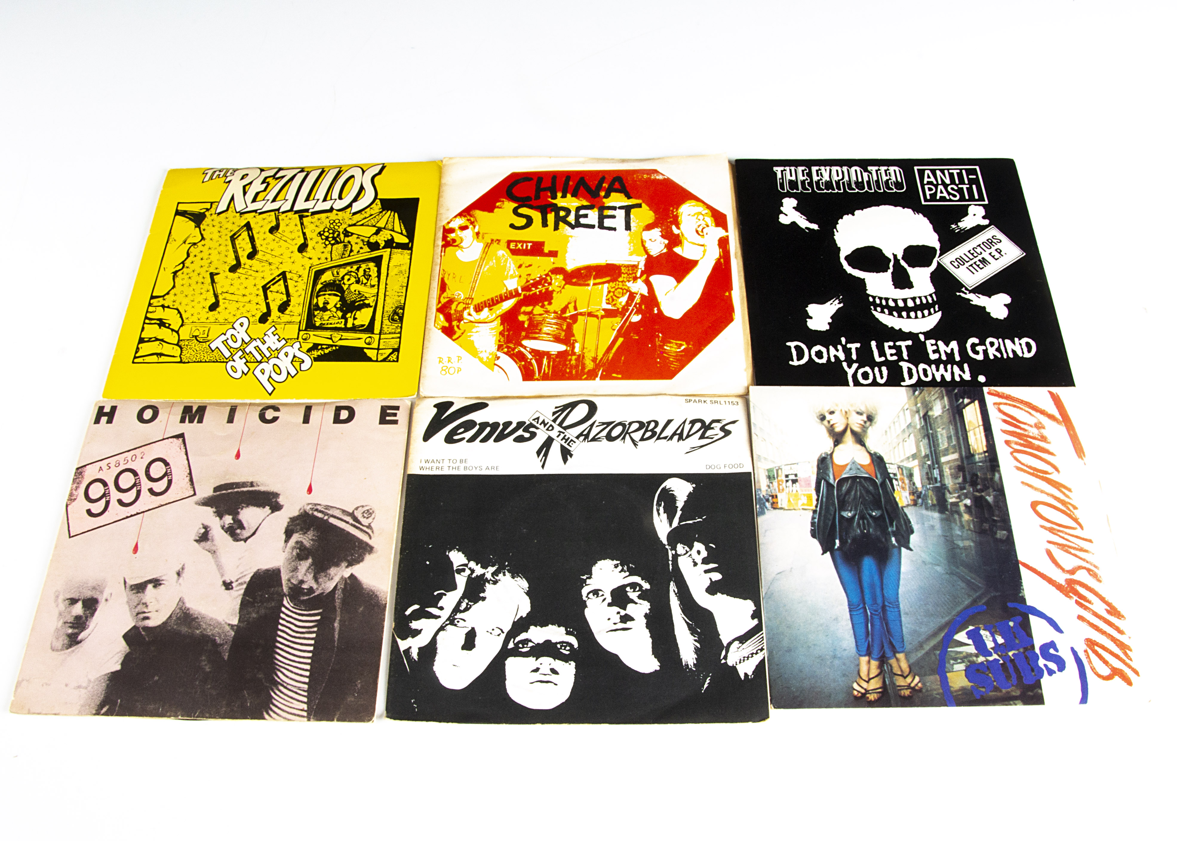 """Punk / New Wave 7"""" Singles, approximately forty 7"""" singles of mainly Punk, Indie and New Wave with"""