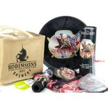 Iron Maiden Trooper Beer, collection of Trooper Beer items comprising a complete Presentation