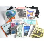 Neo Prog Fanzines / Programmes / T Shirts plus, large collection of Neo Prog items with Fanzines