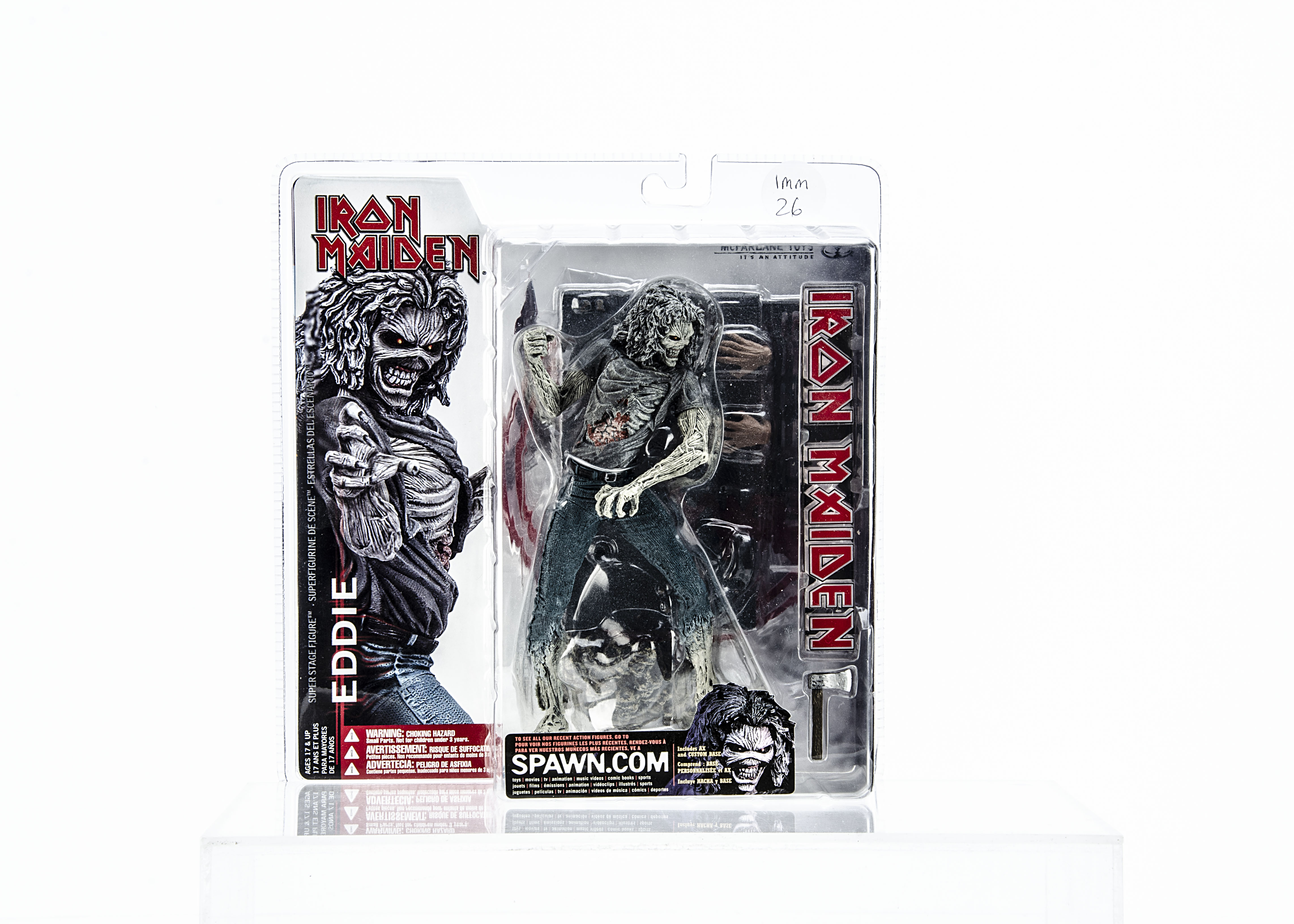 Iron Maiden Eddie Model, McFarlane Toys 'Eddie' model from 2002 - Brand New and boxed
