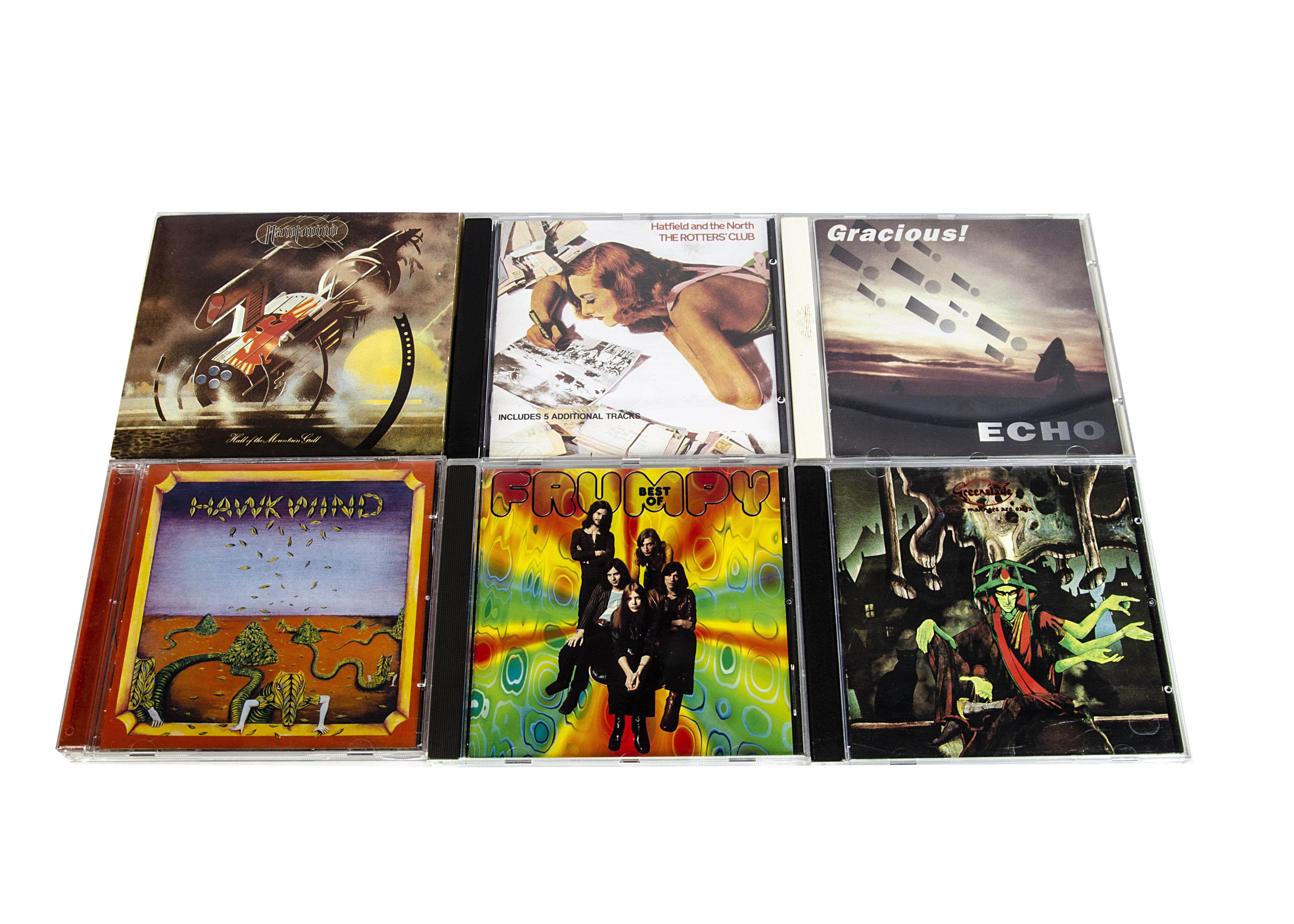 Prog Rock CDs, twenty-seven CDs of mainly Progressive Rock with artists comprising Caravan (