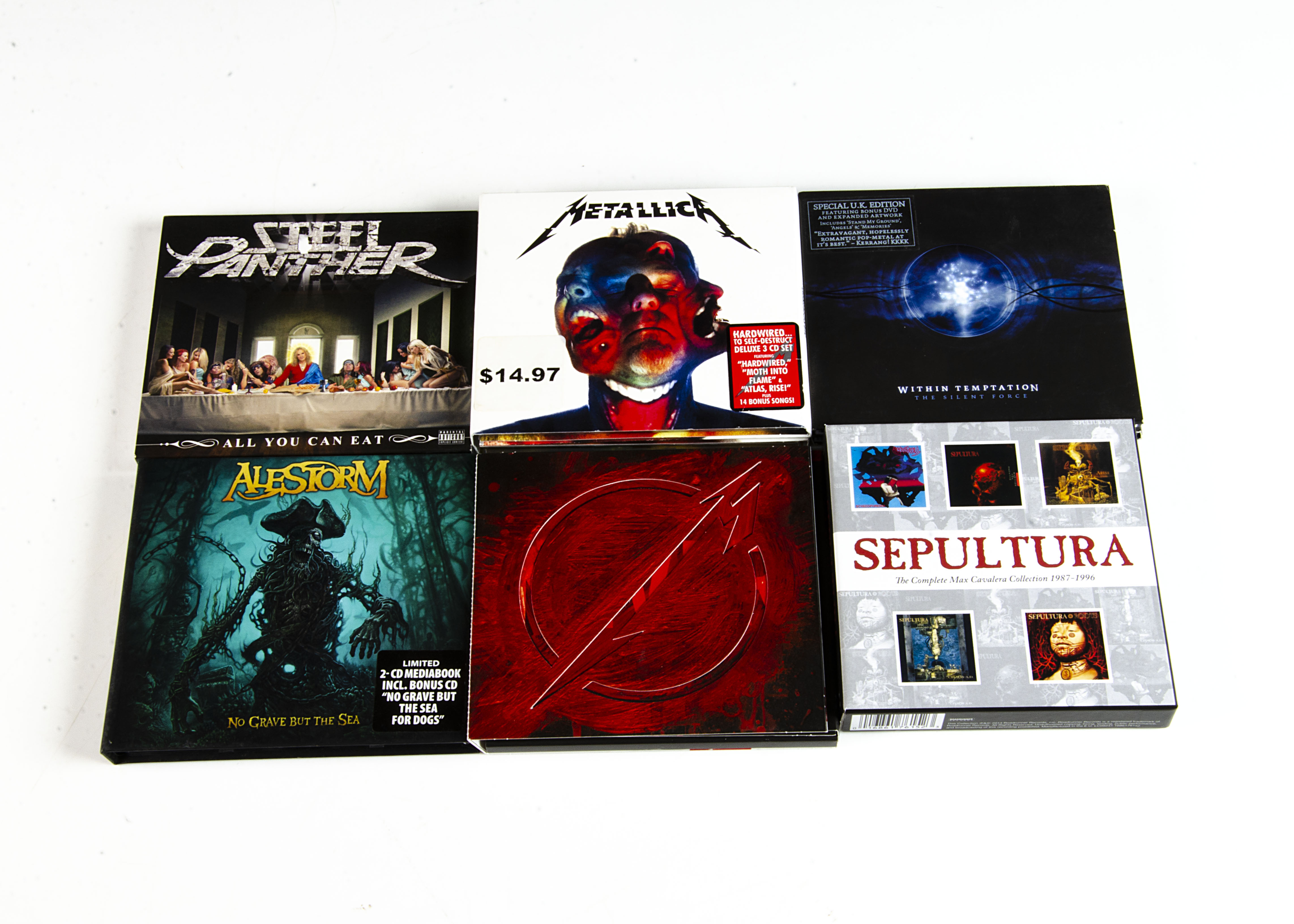 Metal CDs and Box Sets, approximately sixty CDs of mainly Thrash, Death and Heavy Metal including