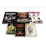 Iron Maiden Books, thirteen books comprising Hardbacks: On Board Flight 666 (2 copies), Monsters