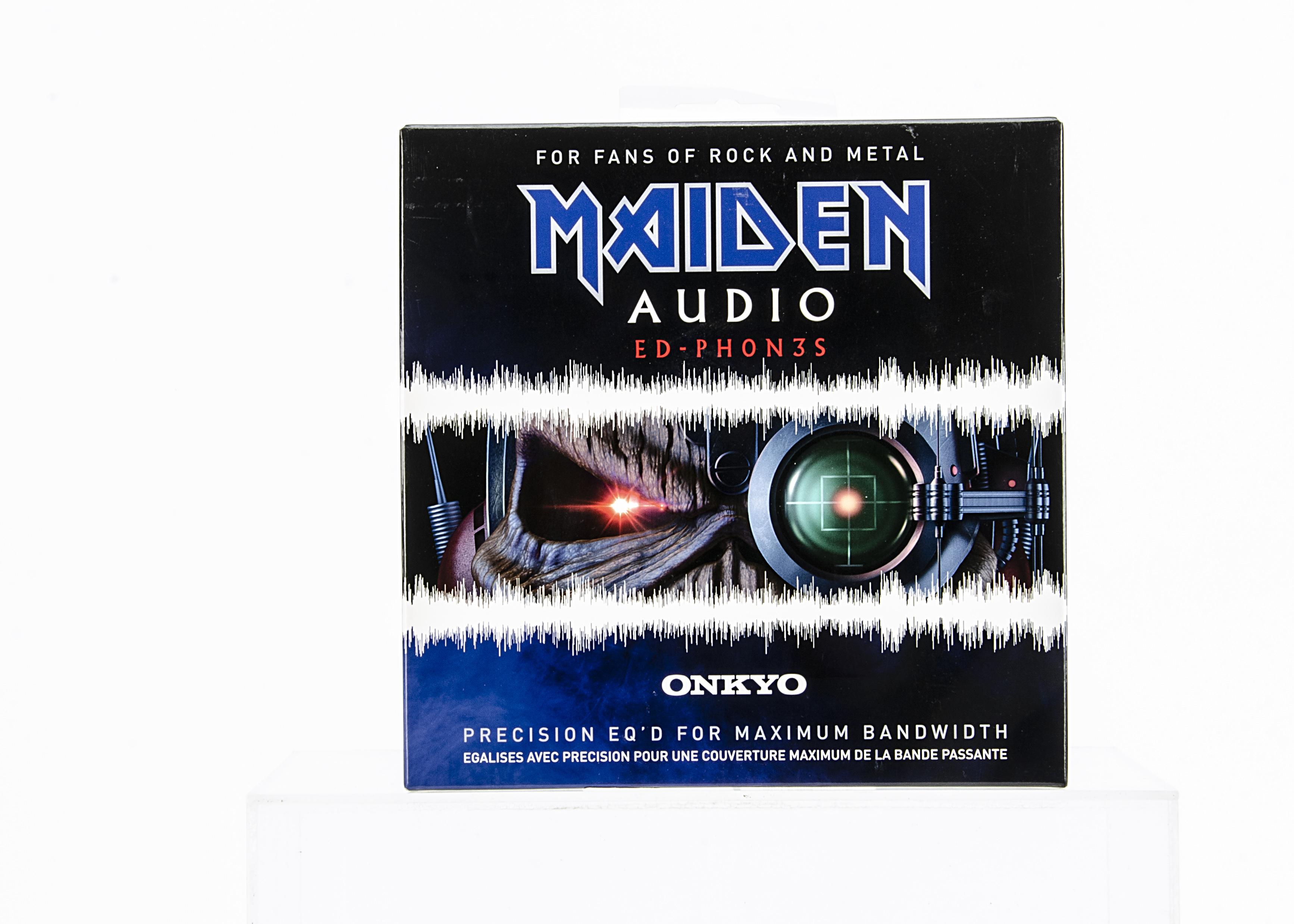 Iron Maiden Headphones, Onkyo Maiden Audio Ed-Phones - Precision Headphones - Brand new and sealed