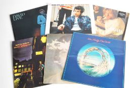 Rock / Folk LPs, approximately forty albums of mainly Classic and Folk Rock with artists including