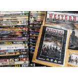 Film DVDs, approximately one hundred and ten DVDs of mixed genre but generally classic films