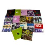 """Jethro Tull 7"""" Singles, seventeen Jethro Tull singles comprising UK and Overseas releases - all"""