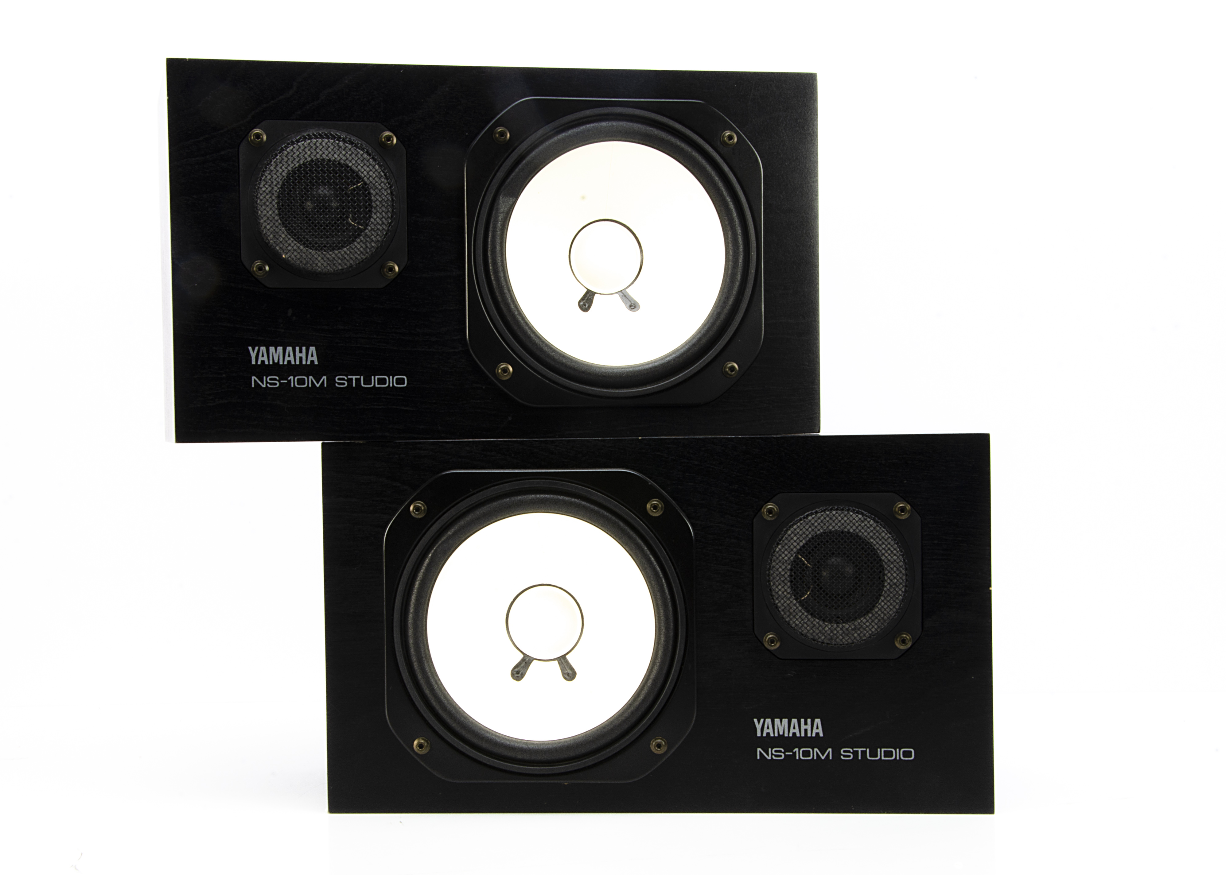 Yamaha Studio Monitors, a pair of Yamaha Studio Monitors model NS-10m matched, with instruction