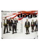 Reservoir Dogs UK Quad Poster, Reservoir Dogs (1992) UK Quad cinema poster, for the ground-