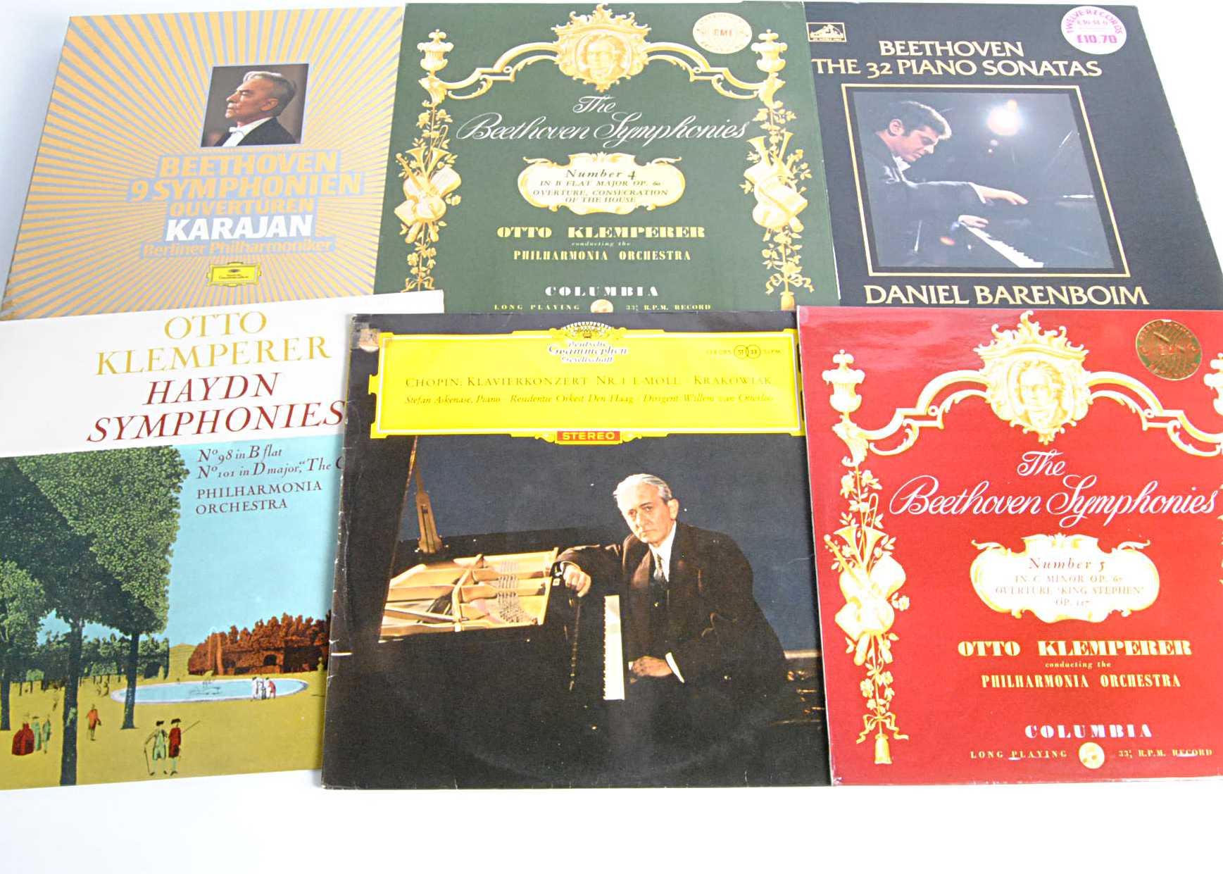 Classical LPs / Box Sets, seven Box Sets and approximately thirty-five albums of mainly ED2 and