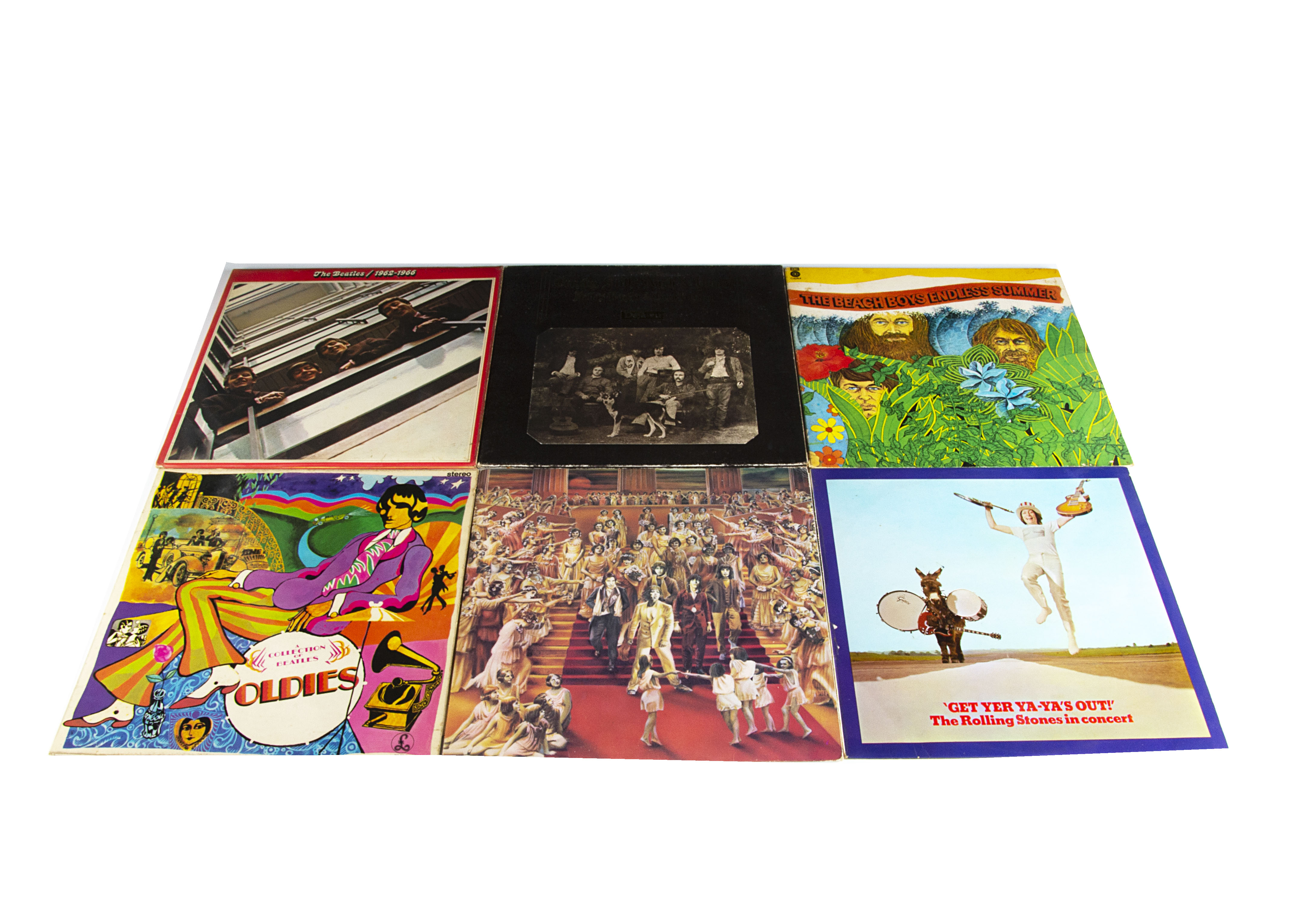 Sixties LPs, approximately forty albums of mainly Sixties artists including The Beatles / Solo,