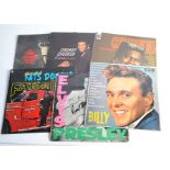 Rock n Roll LPs, approximately thirty five albums of mainly Rock n Roll with artists including
