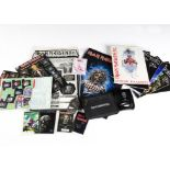 Iron Maiden Fan Club Items, Iron Maiden fan club items comprising Alarm clock, Wallet, 2001