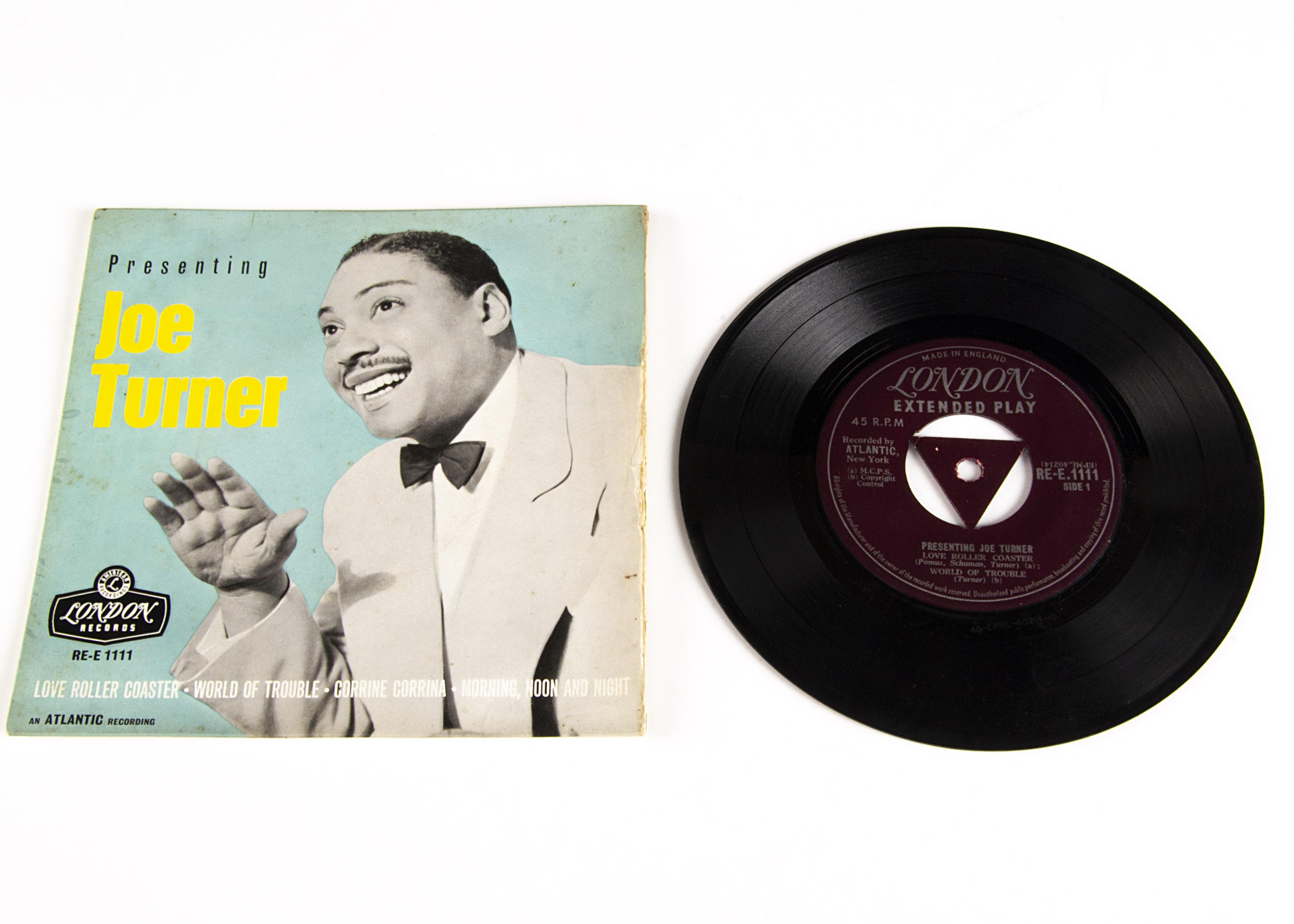 Joe Turner EP, Presenting Joe Turner EP - Original UK Release 1957 on London (Re-E 1111) - Laminated