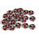 Iron Maiden Trooper Beer Pin Badges, twenty-three Trooper Beer Pin Badges, all in Excellent