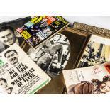 Errol Flynn Memorabilia, a large quantity of memorabilia including magazines featuring Errol