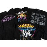 Steel Panther 'T' Shirts, twelve Steel Panther 'T' shirts including Death to All but Metal tour