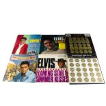 Elvis Presley LPs / Box Sets, approximately forty-five albums and two Box Sets including Worldwide