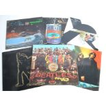 LP Records, approximately twenty-seven albums of various genres with artists including The