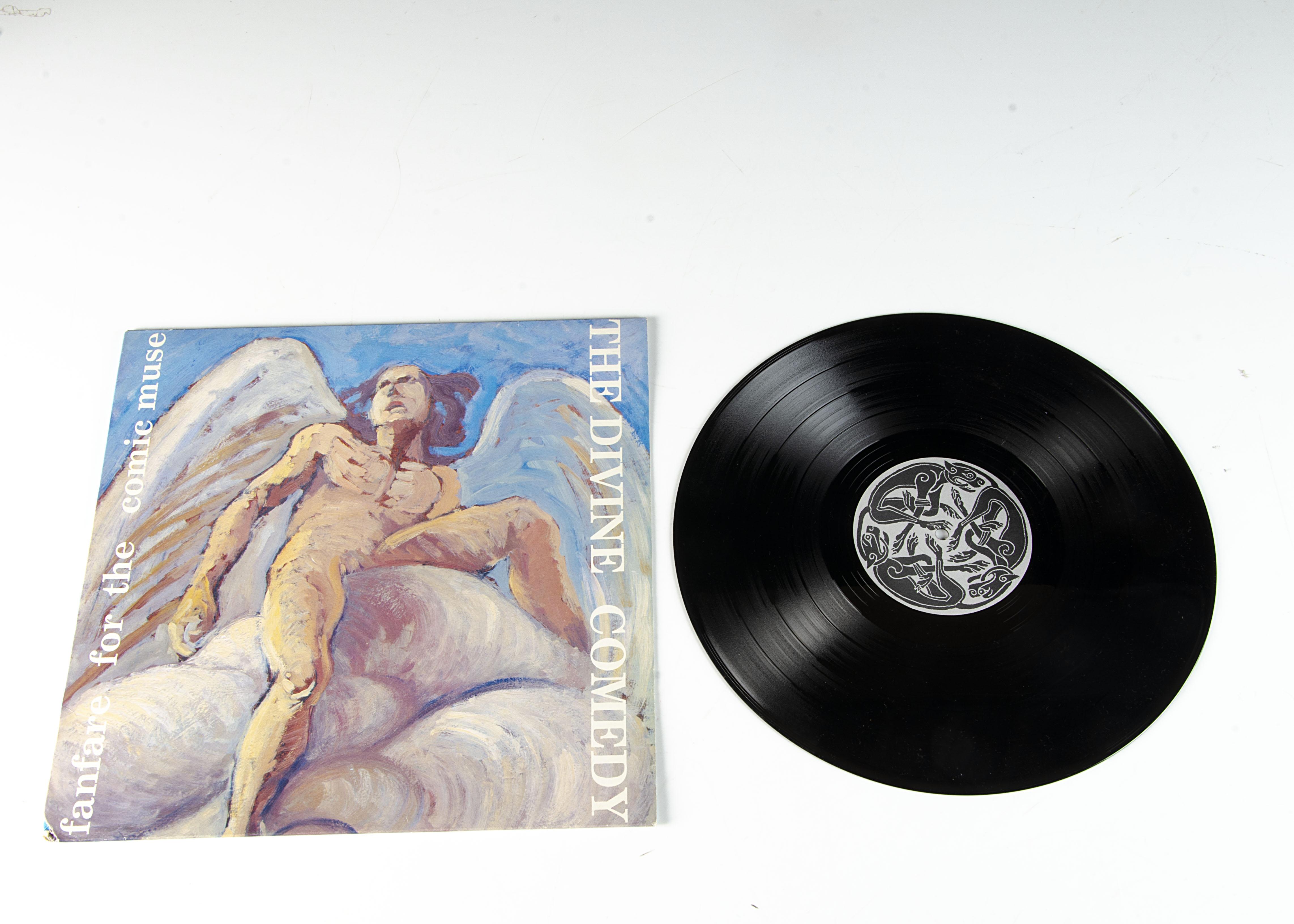 Divine Comedy LP, Fanfare For The Comic Muse LP - original UK release 1990 on Setanta (SET LPM