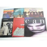 Rock / Prog LPs, approximately fifty albums of mainly Classic, Psychedelic and Progressive Rock with